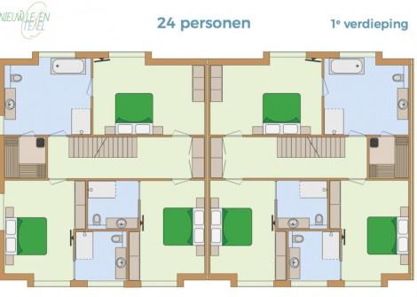 gruppenunterkã¼nfteGroepsverblijf-Nieuw-Leven-24p-1