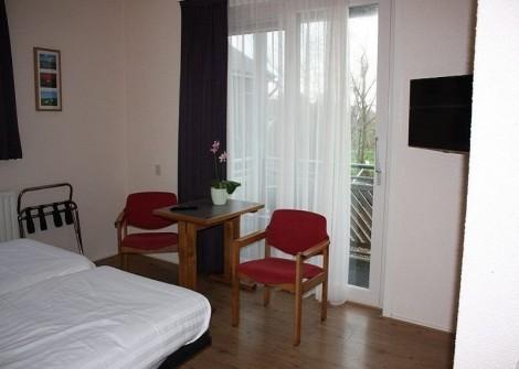 hotelsParterre kamer met terras